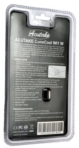 ACUTAKE ConsCool WI1 (Cooling System for Nintendo WII)