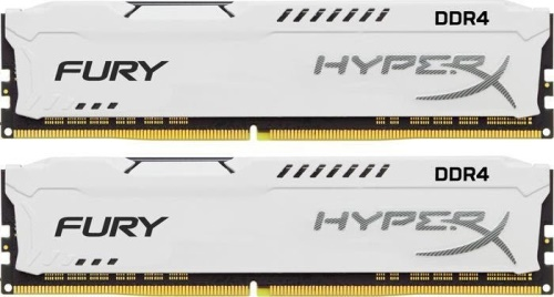 32GB DDR4 2933MHz CL17 HyperX FURY White, 2x 16GB