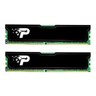 8GB DDR4-2666MHz Patriot CL19, kit 2x4GB chladič