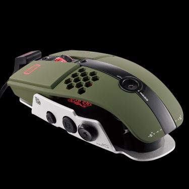 TT eSPORTS Mouse Level 10M Green (MO-LTM009DTK)