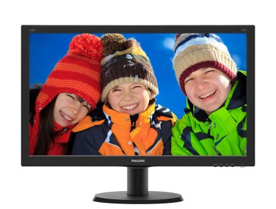 "24"" LED Philips 240V5QDSB - FHD,IPS,HDMI"