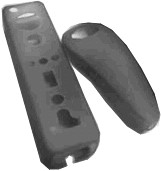 ACUTAKE ConsCover  CWI1 (Wii, translucent black)
