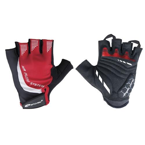 e968a39249f Spokey AIR FLOW 3 Cyklistické rukavice L (5901180338769)