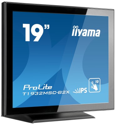 "19"" LCD iiyama T1932MSC-Multitouch :projected cap."