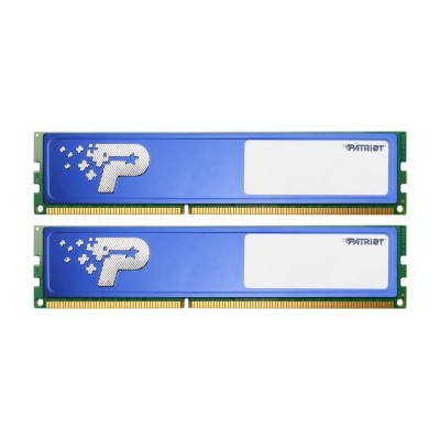 16GB DDR4-2400MHz  Patriot CL16, kit 2x8GB s chladičem