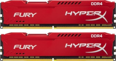 16GB 3200MHz DDR4 CL18 HyperX FURY Red, 2x8GB