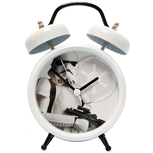 PRIME Star Wars Stormtrooper Twinbell Alarm Clock