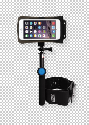 DiCAPac Action DARS-C2 Action Floating Selfie Stick with Bluetooth remote + Waterproof cases + Armband