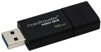 16GB Kingston USB 3.0 DataTraveler 100 G3 (DT100G3/16GB)