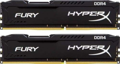 16GB 3466MHz DDR4 CL19 HyperX FURY Black, 2x 8GB