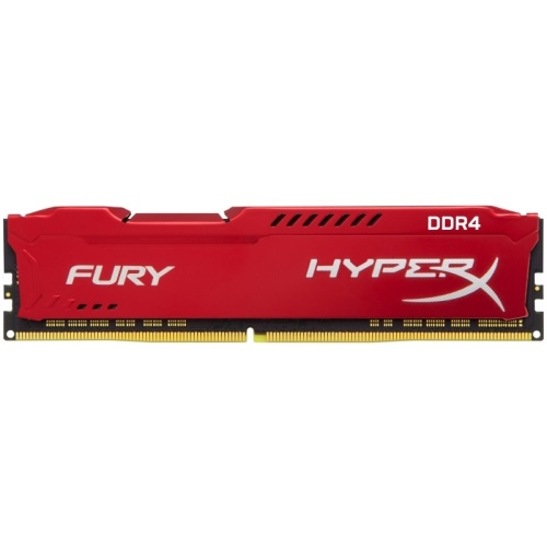 8GB 3200MHz DDR4 CL18 HyperX FURY Red, 2x8GB