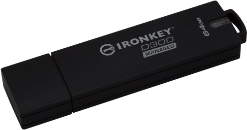 64GB Kingston IronKey D300 šifrovaný USB 3.0 FIPS Level 3 managed