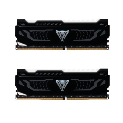 16GB DDR4-3200MHz Patriot Viper CL16, 2x8GB, bílé LED