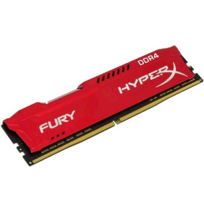 8GB DDR4 2400MHz CL15 DIMM 1Rx8 HyperX FURY Red