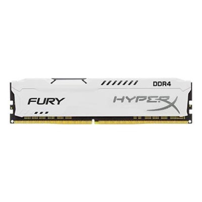 16GB DDR4 2666MHz CL16 DIMM HyperX FURY White
