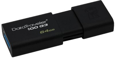 128GB Kingston USB 3.0 DataTraveler 100 G3 (100MB/s čtení) (DT100G3/128GB)