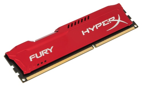 8GB DDR3-1600MHz Kingston HyperX Fury Red (HX316C10FR/8)