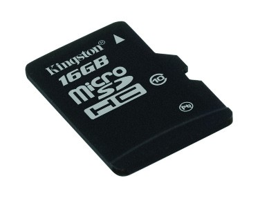 16GB Micro SDHC Kingston - class 10 (bez adaptéru) (SDC10/16GBSP)