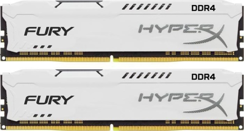 16GB 3466MHz DDR4 CL19 HyperX FURY White, 2x 8GB