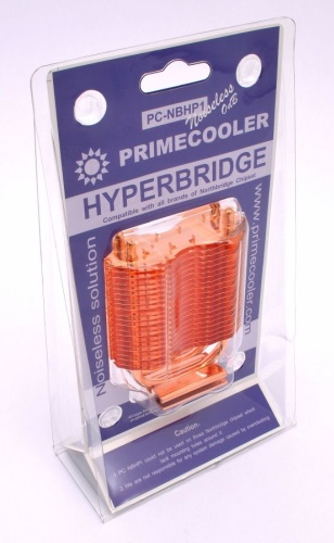 Chladič paměti a čipsetu PRIMECOOLER PC-NBHP1 HYPERBRIDGE Heatpipe Noiseless Cooler
