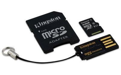 64GB Mobility Kit G2 Kingston class 10 (MBLY10G2/64GB)