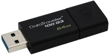64GB Kingston USB 3.0 DataTraveler 100 G3 (DT100G3/64GB)