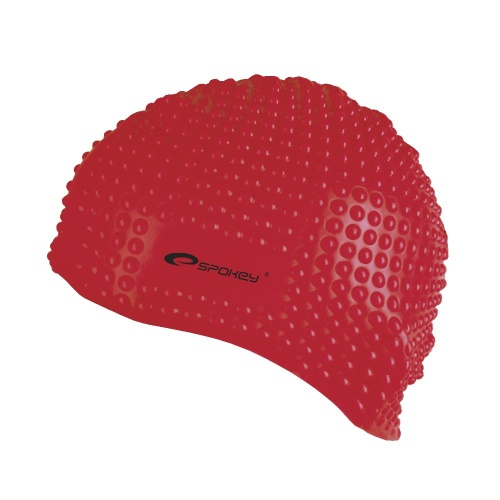 Spokey BELBIN-Plavecká čepice bublinková červená (5907640841268) cd7ac0fba8
