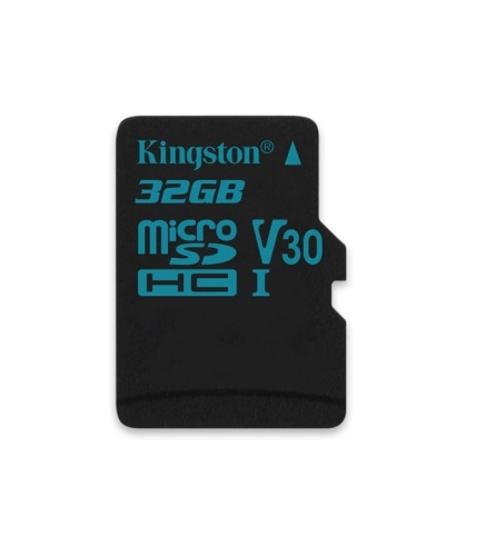 32GB microSDHC Kingston Canvas Go UHS-I U3 V30 90R/45W bez adapteru