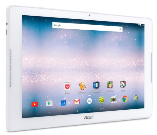 "Acer Iconia One 10 - 10""/MT8167/16GB/2G/IPS HD/Android 7.0 bílý"
