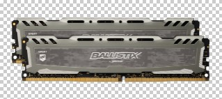 16GB DDR4-2400MHz Crucial Ball. CL16, kit 2x8GB