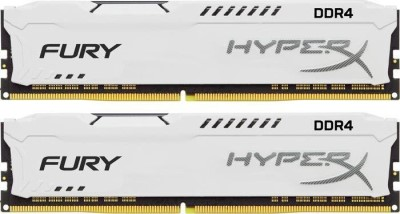 16GB 3200MHz DDR4 CL18 HyperX FURY White, 2x8GB