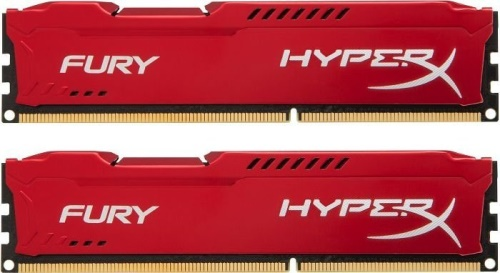 32GB DDR4 2933MHz CL17 HyperX FURY Red, 2x 16GB