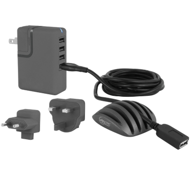ARCTIC Charging Station (charger PRO 4 multi; cable holder; 2x USB extension cable)