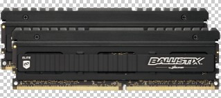 16GB DDR4-3000MHz Ballistix  Elite CL15 DRx8, 2x8GB