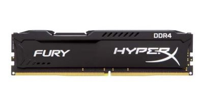 64GB DDR4 2400MHz CL15 HyperX Fury, 4x16GB