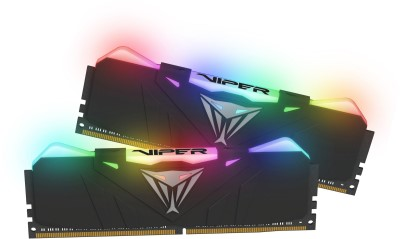 16GB DDR4-3000MHz RGB Patriot Viper CL15, kit 2x8GB black