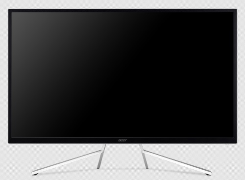 "32"" LCD Acer ET322QK - VA,4K,4ms,60Hz,300cd/m2, 100M:1,16:9,HDMI,DP,repro"