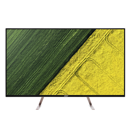 "43"" LCD Acer ET430K - IPS,4K,5ms,60Hz,350cd/m2, 100M:1,16:9,HDMI,DP,repro"